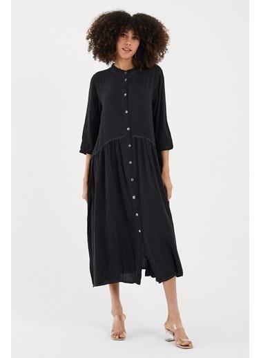 Cottonmood Elbise Siyah